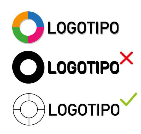 Logotipo versiones color