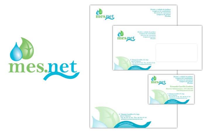 Identidad corporativa aplicada a la papelería